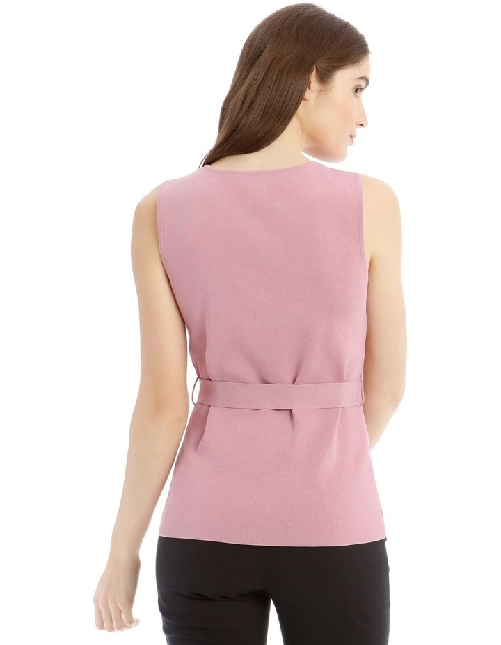 Milano D-Ring Belted Top image 3