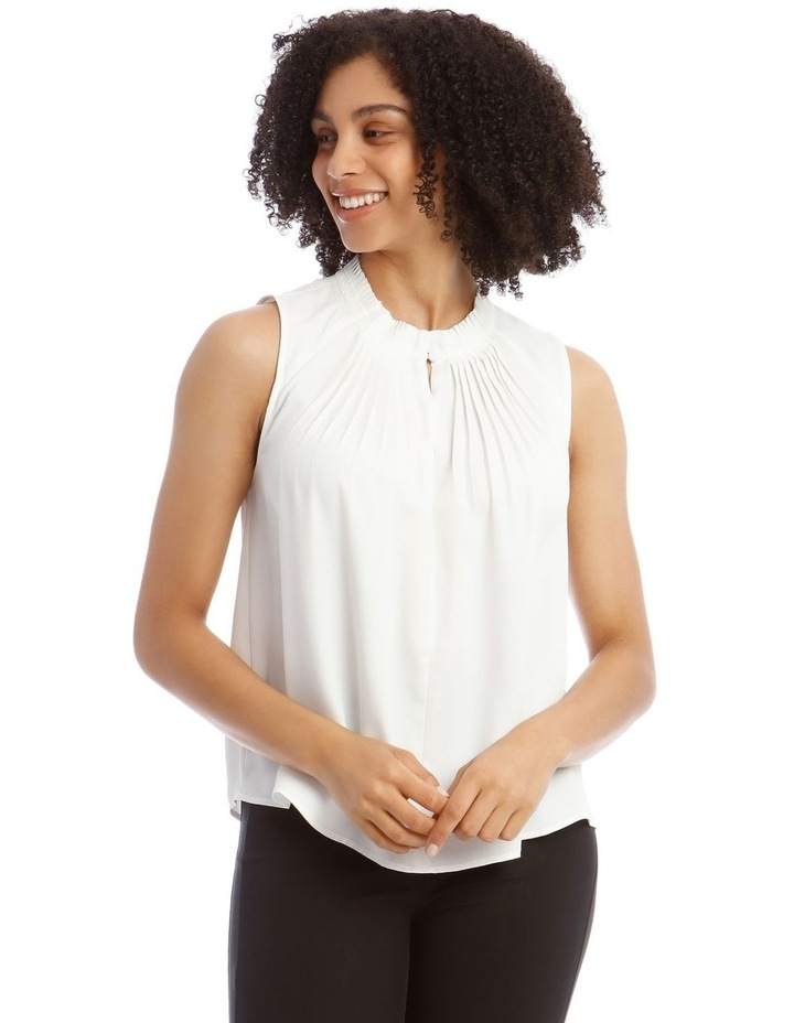 Pleated Sleeveless Top image 1