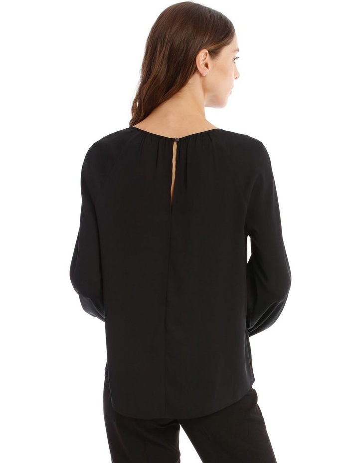 Gathered Neck Top image 3