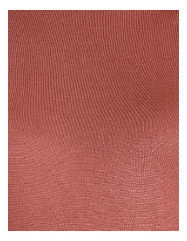 Draped Long Sleeve Jersey Top image 5
