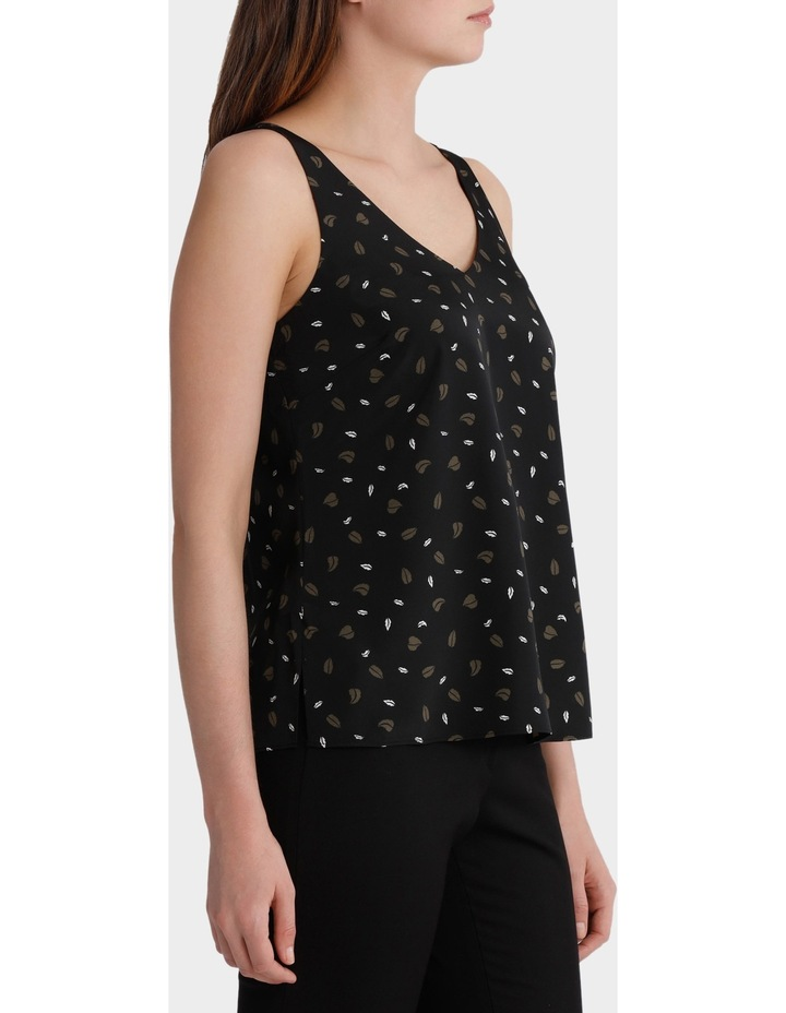 Double Layer Woven Cami Print image 2
