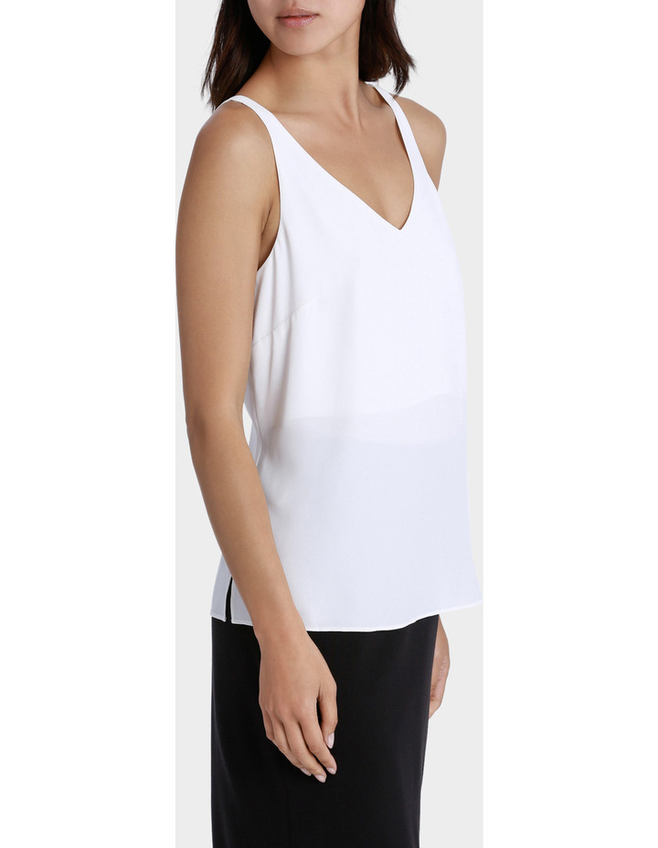 Double Layer Woven Cami image 2