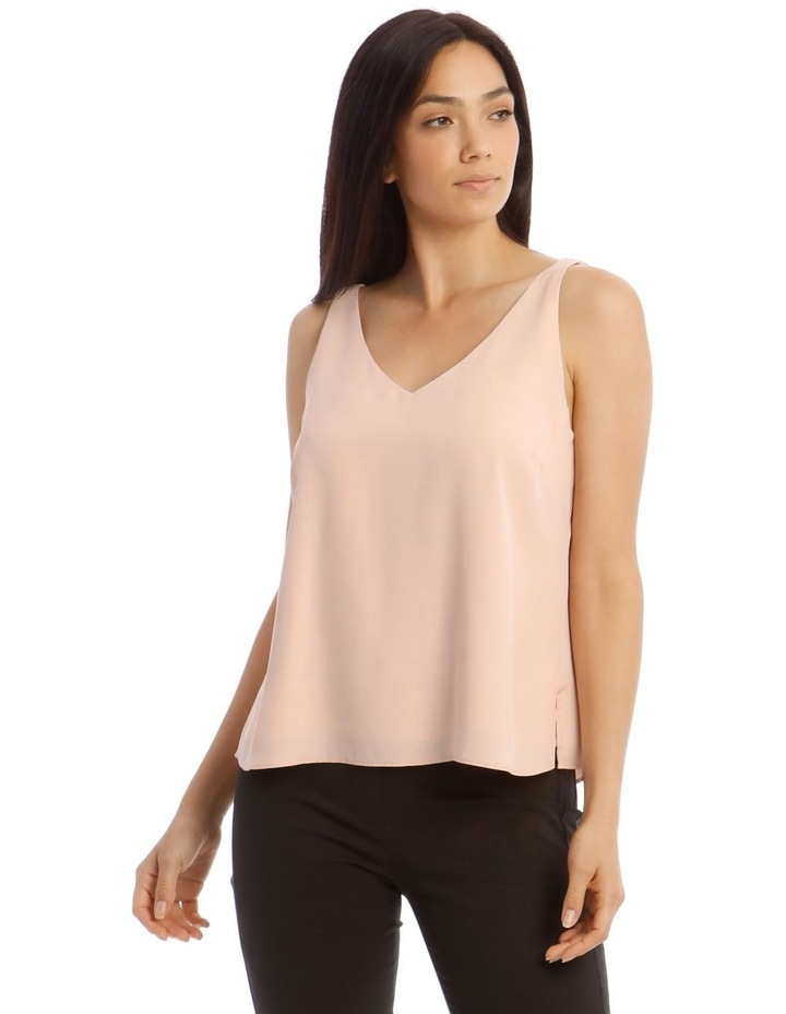 Double Layer Cami Straight Hem image 1