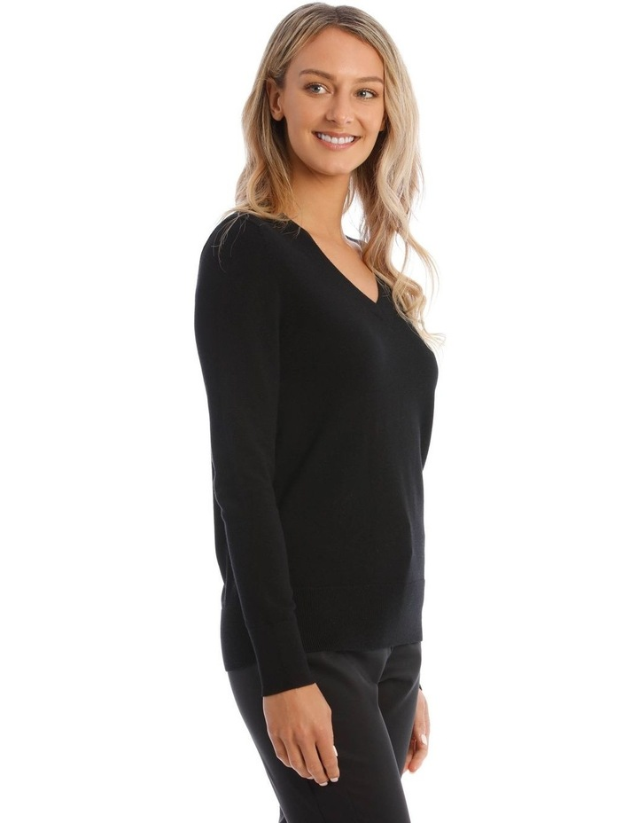 V-Neck Jumper image 2