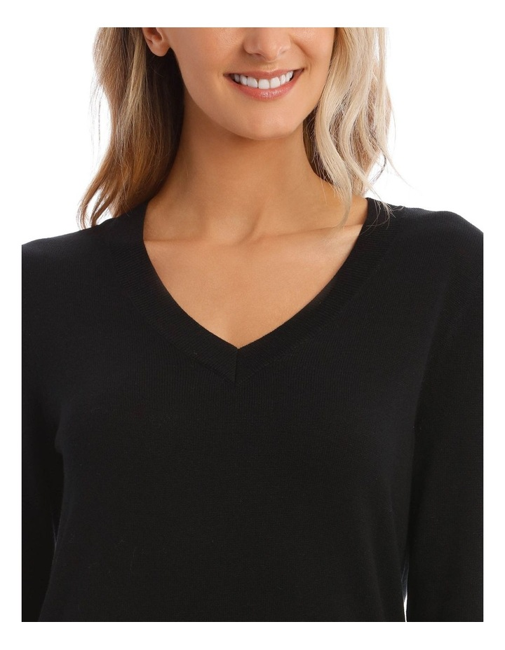 V-Neck Jumper image 4