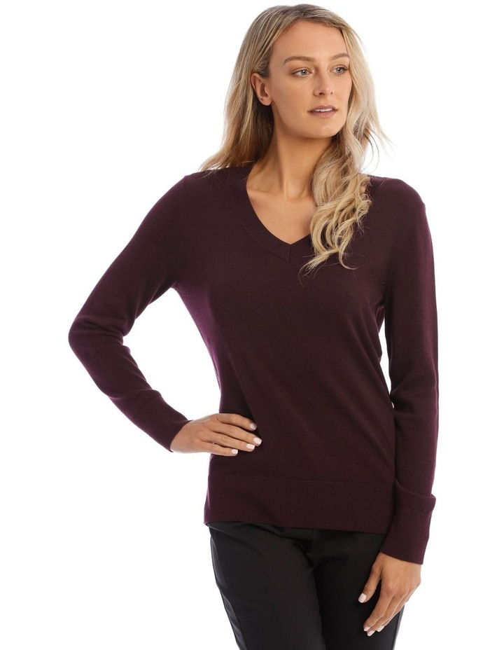 V-Neck Jumper image 1