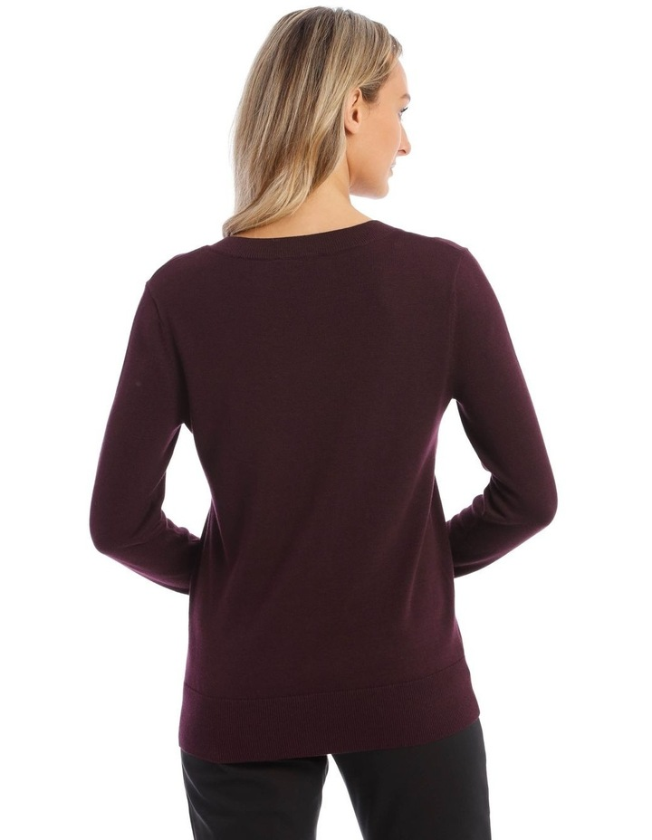 V-Neck Jumper image 3