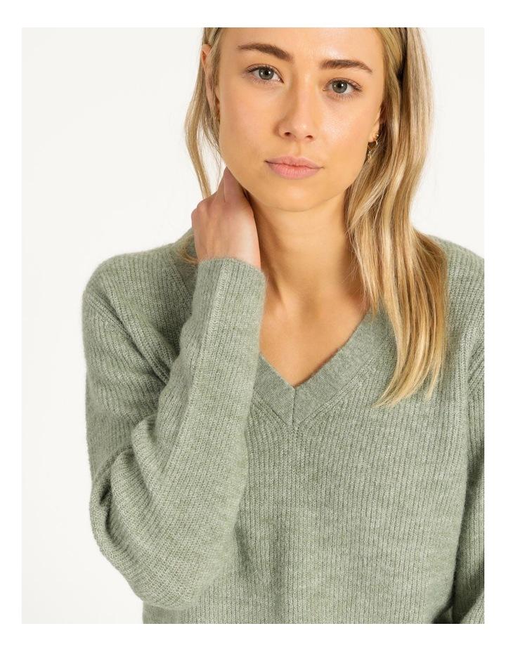 V-Neck Aline Knitted Jumper image 6