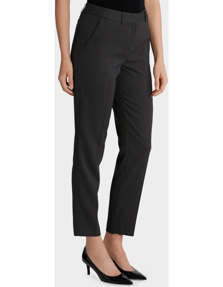 Zip Detail Slim Fit Pant image 1