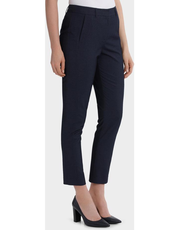 Indigo Slim Detail Suit Pant image 2