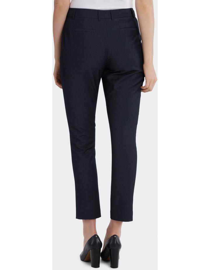 Indigo Slim Detail Suit Pant image 3