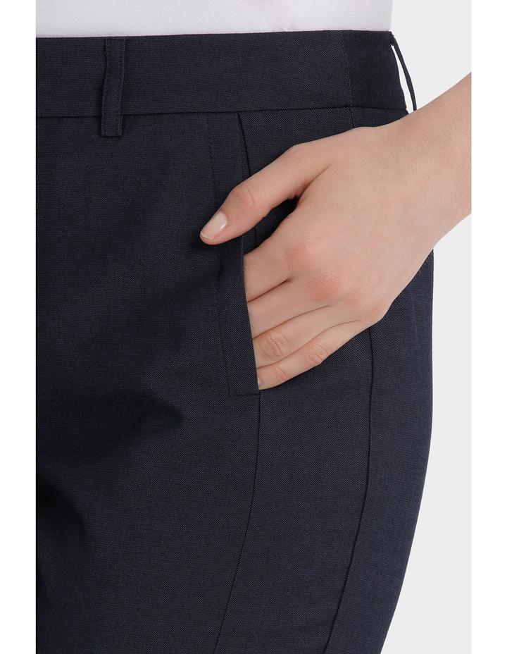 Indigo Slim Detail Suit Pant image 4