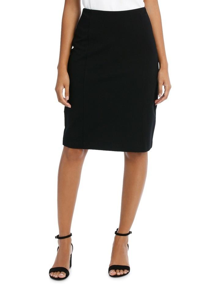 Panelled Ponte Skirt image 1