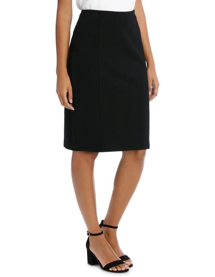 Panelled Ponte Skirt image 2