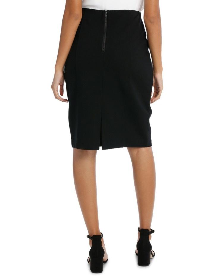Panelled Ponte Skirt image 3