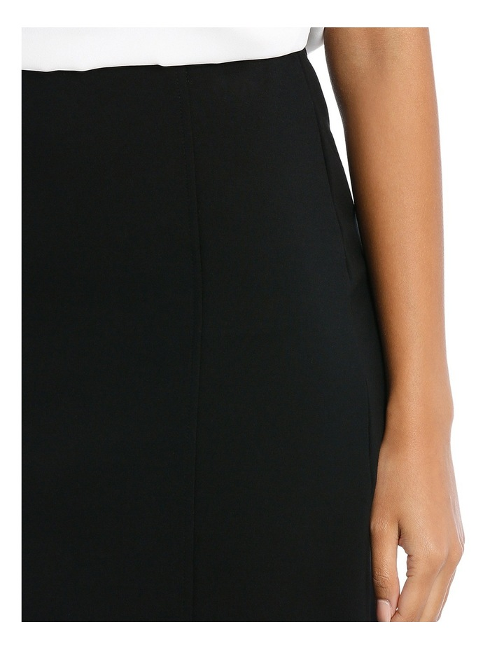 Panelled Ponte Skirt image 4