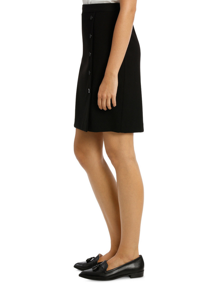 Frill Hem Prism Suit Skirt image 2