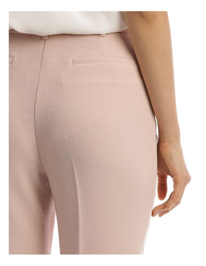 Textured Crepe Crop Pant image 4