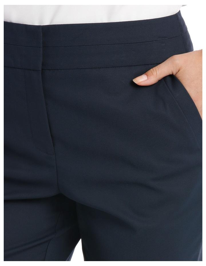 Cotton Sateen Ankle Grazer Pant image 4