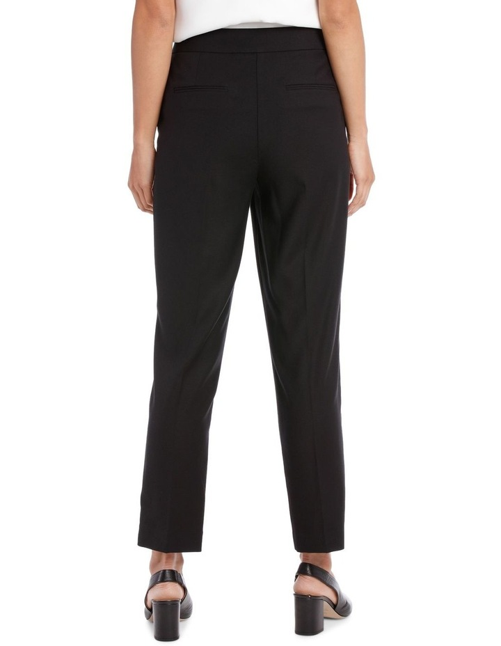 TEXTURED STRAIGHT SUIT PANT image 3