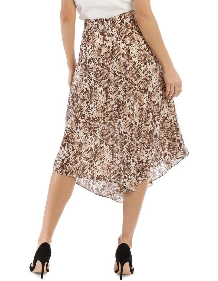 Snake Printed Skirt image 3