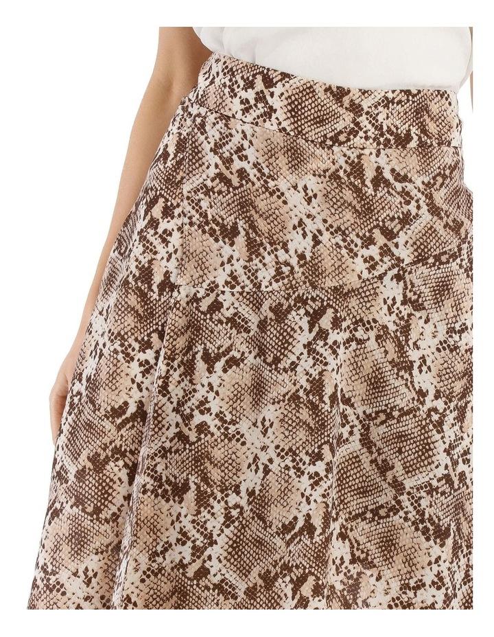 Snake Printed Skirt image 4