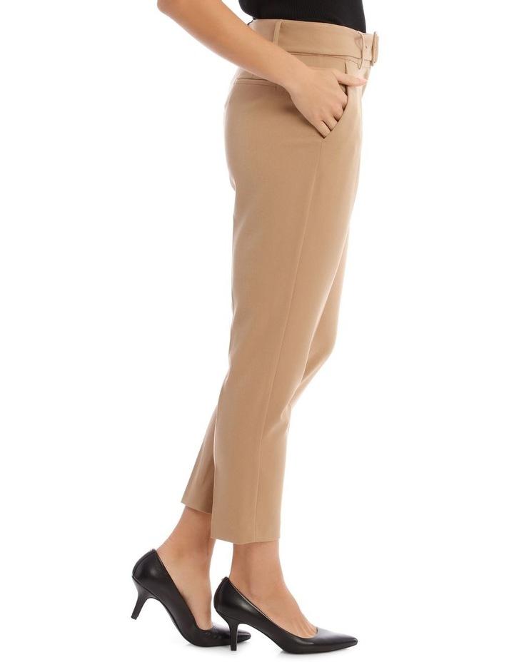 Straight Leg Twill Pant image 2