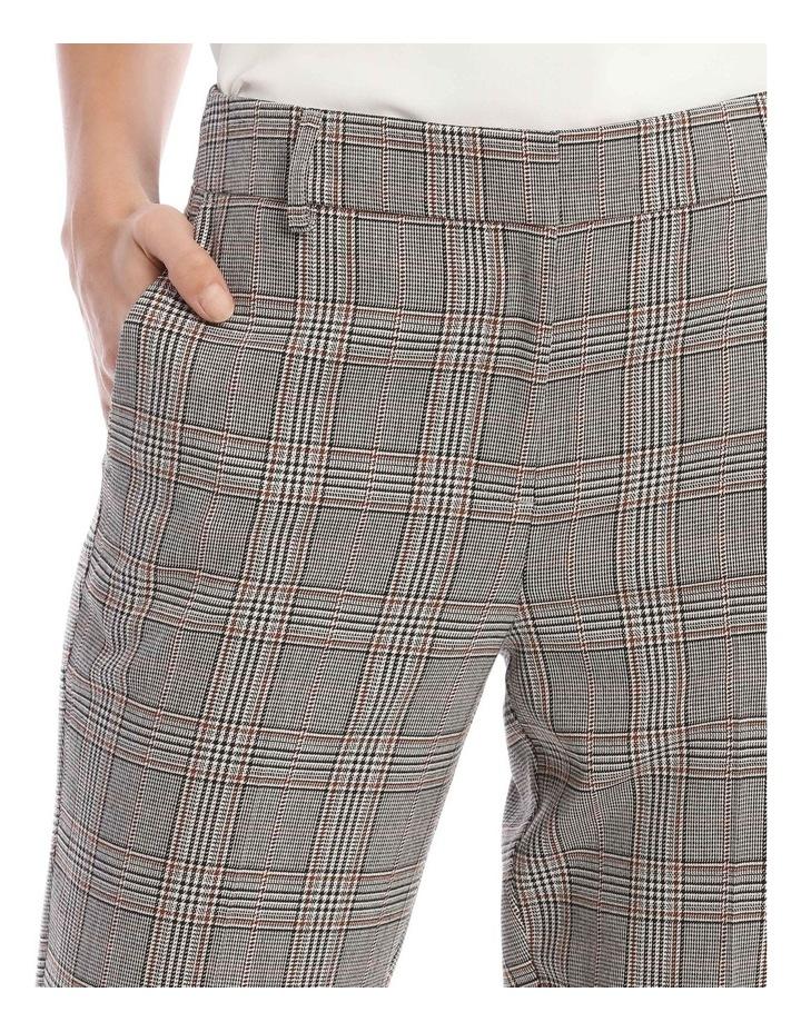 Check Slim Leg Pant image 4