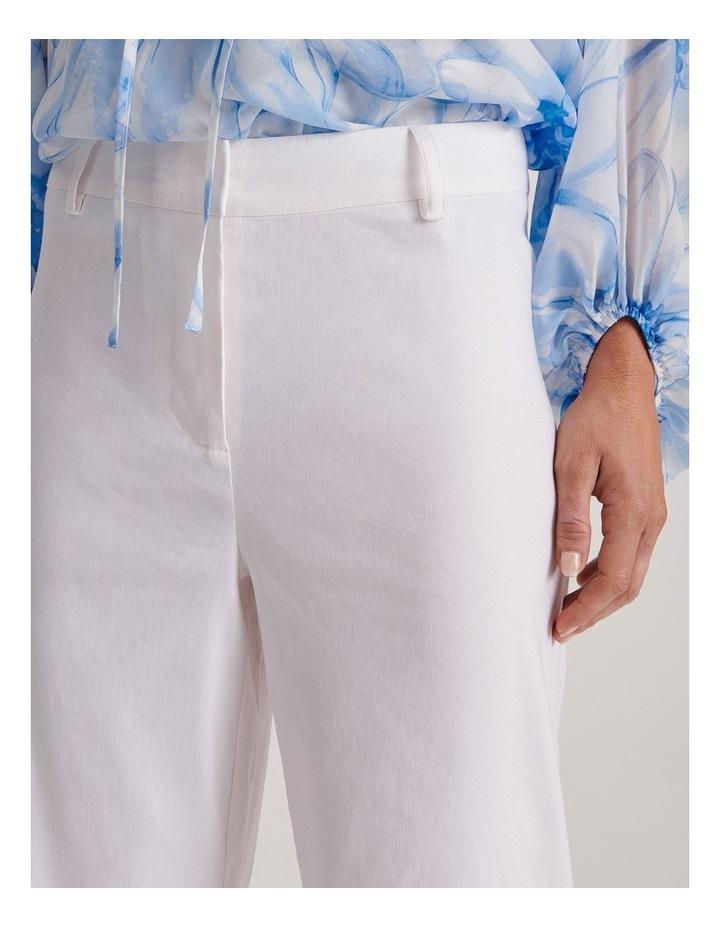 Linen Blend Wide Leg Pant image 7