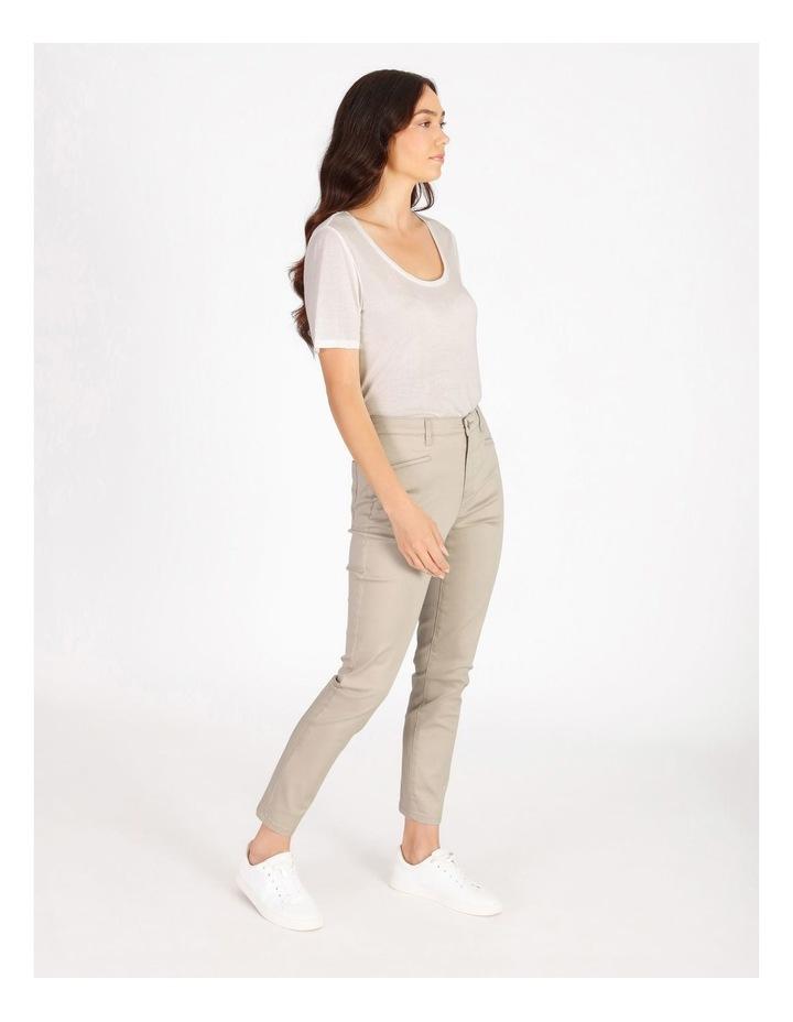 Polished Slim Leg Jean image 2