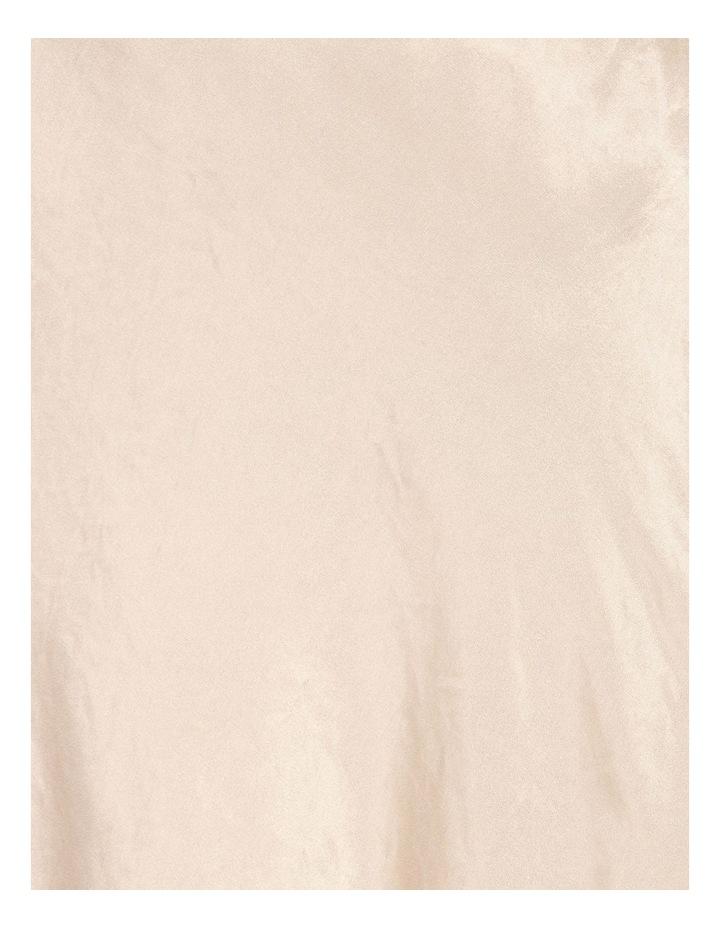 Satin Godet Skirt image 5