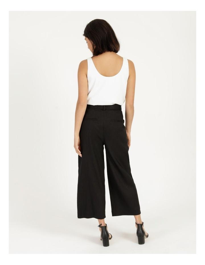 Self Tie Wide Leg Linen Pant image 5