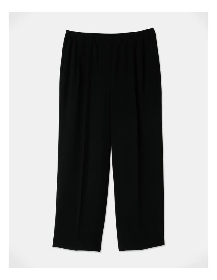 Pull On Wide Leg Crepe Pant image 1