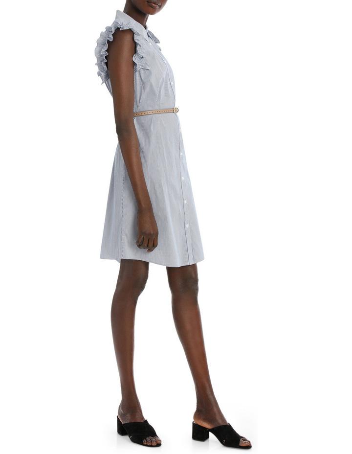 Fine Thin Stripe Shirt Dress image 2