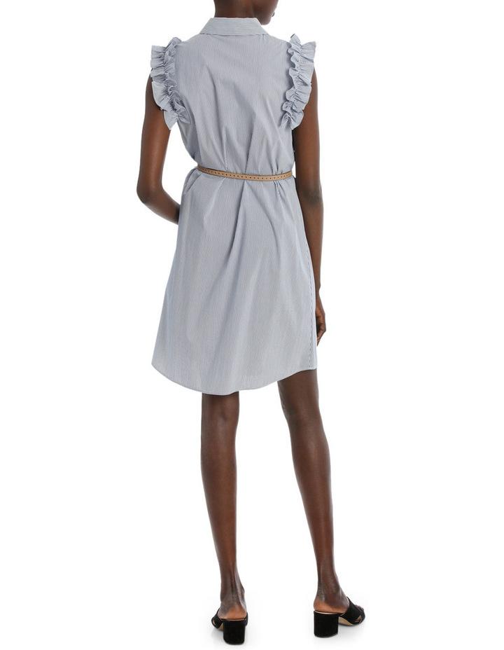 Fine Thin Stripe Shirt Dress image 3