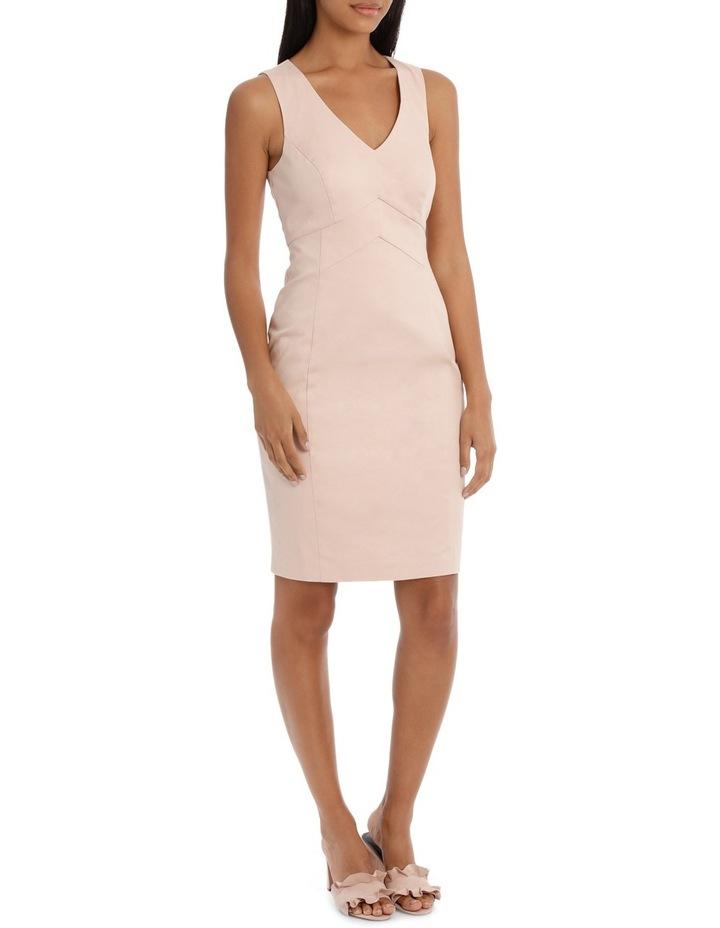 Seam Detail Cotton Sateen Dress image 2