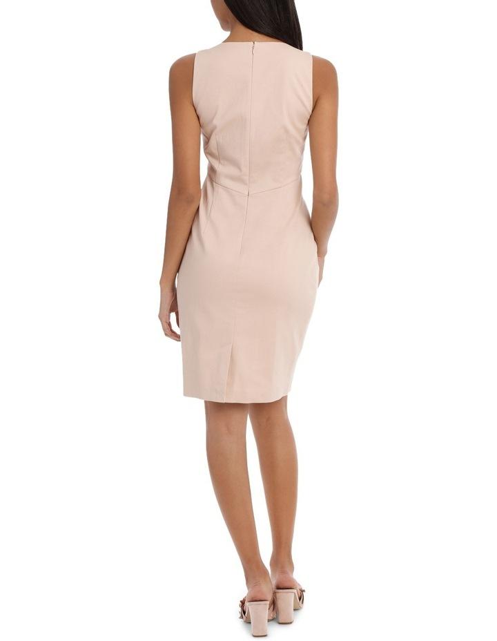 Seam Detail Cotton Sateen Dress image 3