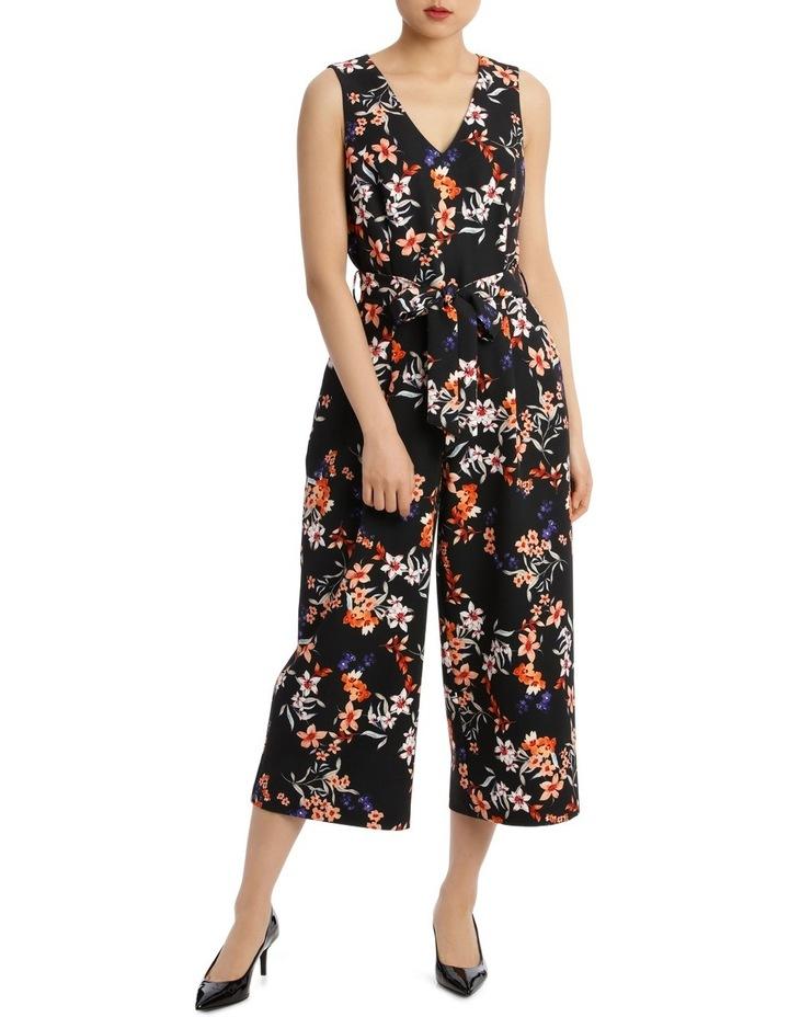 Awakening Floral Sleeveless Jumpsuit image 1