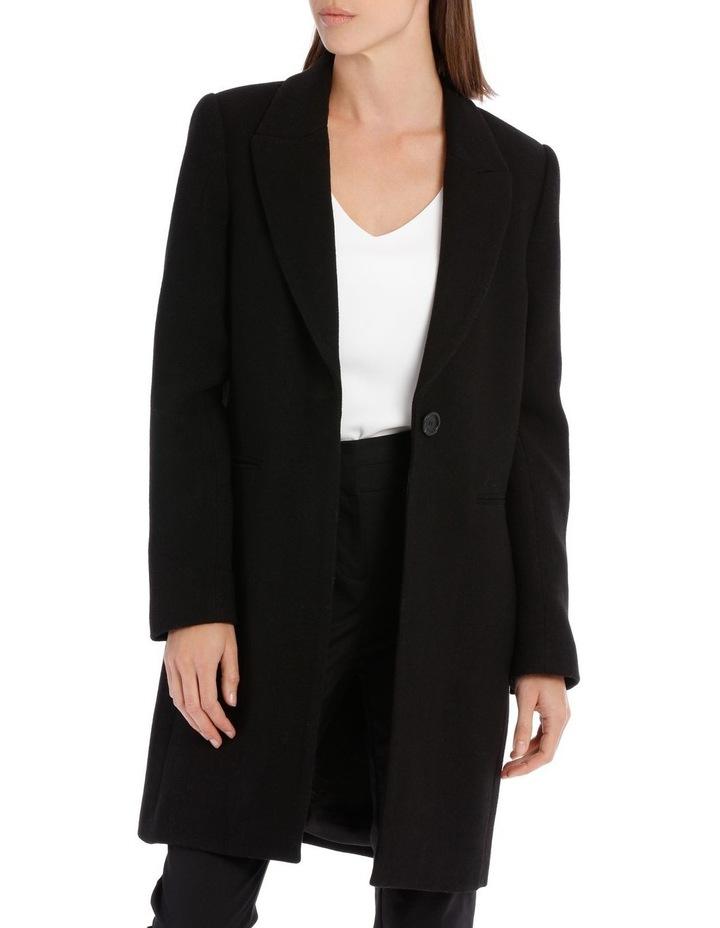 Single Button Coat image 1
