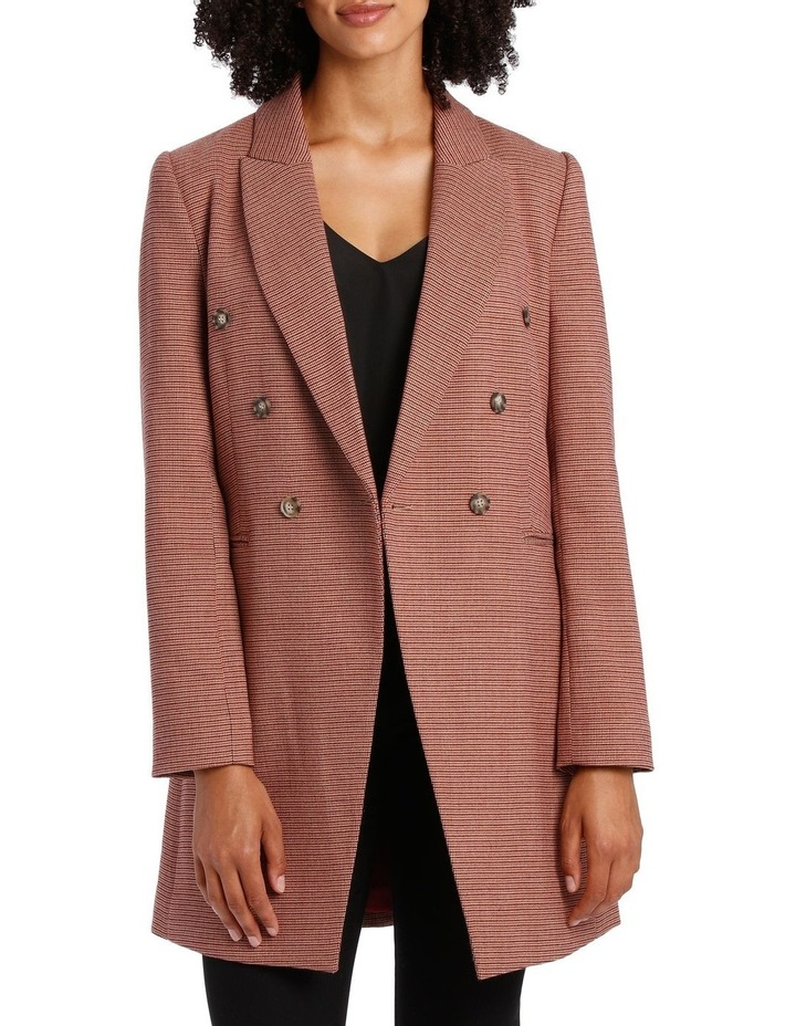 Small Check Coat image 1