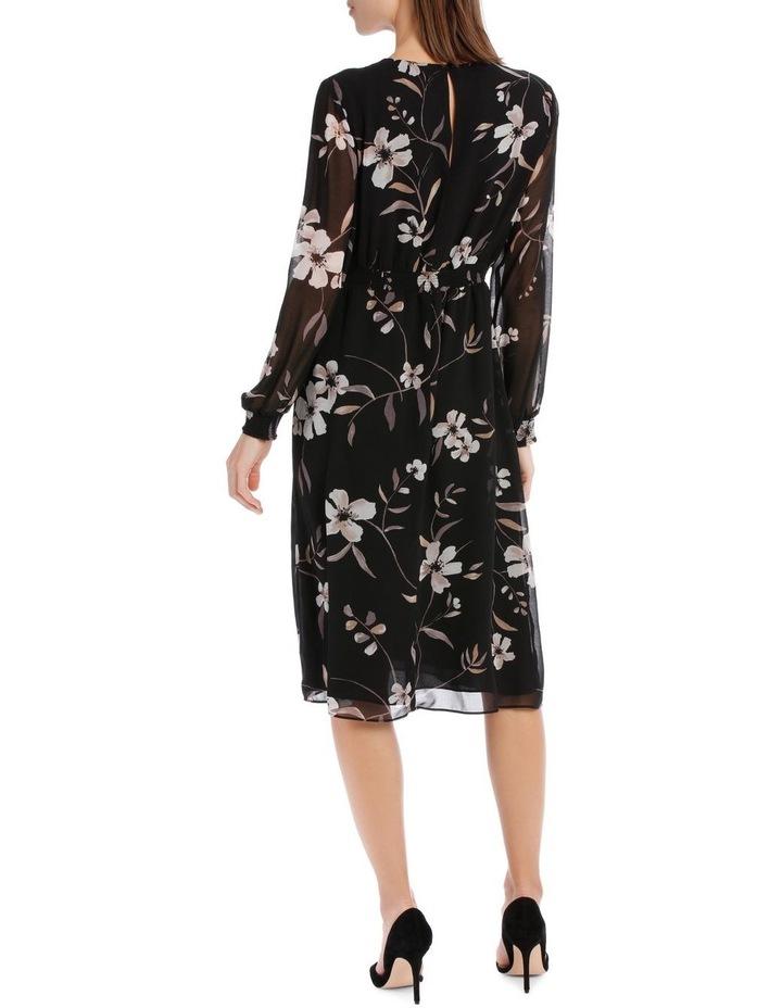 Floral Printed Midi Dress image 3