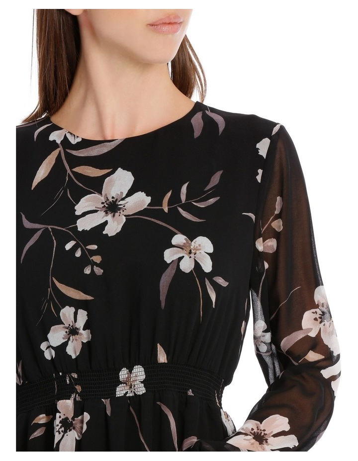 Floral Printed Midi Dress image 4