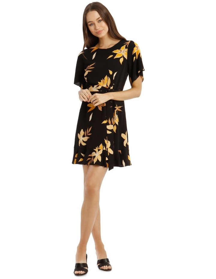 Flutter Sleeve Shift Dress image 1