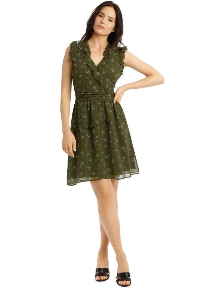 Ruffled Mini Dress image 1