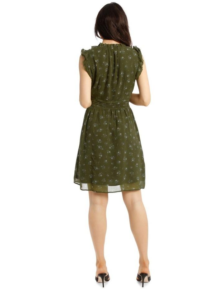 Ruffled Mini Dress image 3