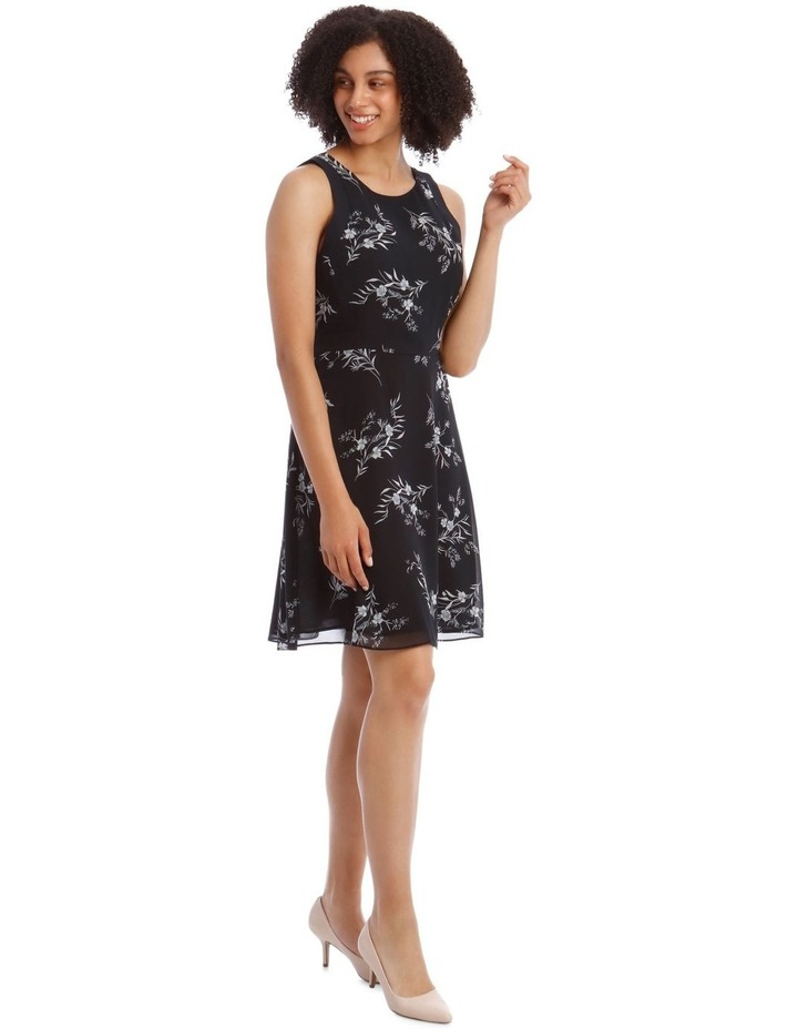 Printed Soft Fit And Flare Dress image 2