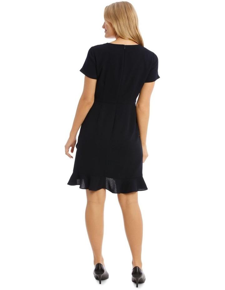 Crepe Ruffle Work Dress image 3