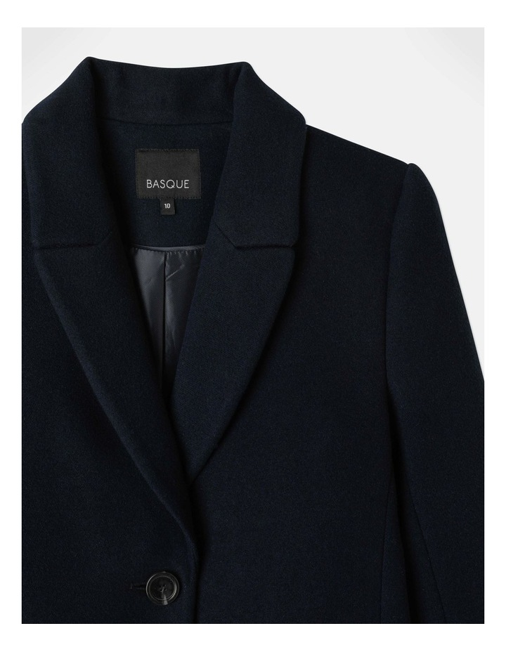 Single Button Coat image 2