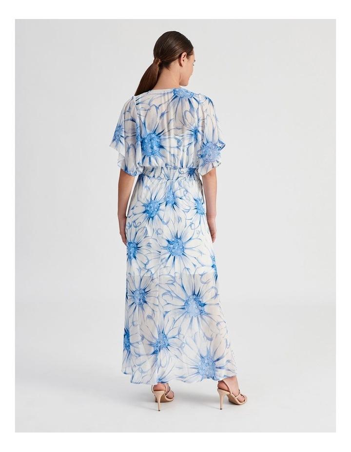 Ruffle Sleeve Maxi Dress image 3