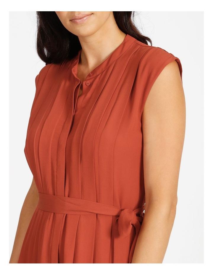 Pleated Midi Dress image 4